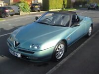 1999 ALFA SPIDER 2.0 TWINSPARK LUSSO GENUINE 36K HPI CLEAR