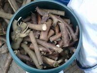 Seasoned small logs/fire wood for sale. Collection only.