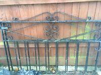 Wrought iron /driveway gates