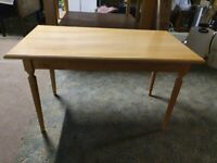 Coffee table for sale - Beech effect - Brand new, still in the box