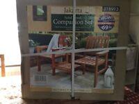 Companion set - garden furniture