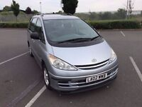 2002 Toyota Previa 2.0L D4D manual, 8 seater with good mileage and condition