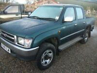 WANTED HILUX ANY CONDITION NORTH YORKSHIRE 07703 559621