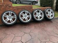 "22"" AXE Design Range Rover Stormer Discovery Refurbished Alloy Wheels & Tyres"