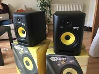 KRK ROKIT 6 G2 STUDIO MONITORS (PAIR)