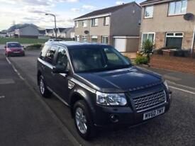 LAND ROVER FREELANDER 2 TD4 XS 2010 AUTO SATNAV Leather fsh
