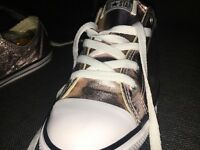 Metallic Pink Converse UK Size 7.5