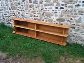 Lovely light oak bookshelves