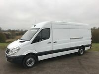 MERCEDES SPRINTER 313 CDI LWB DIESEL 2012 62-REG FULL SERVICE HISTORY DRIVES EXCELLENT
