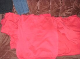 RED SCHOOL JUMPERS