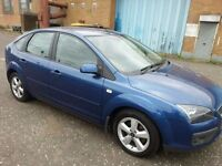 2007 Ford Focus 1.8 zetec , mot - April 2018,only 100,000 miles,2 owners from new,astra,golf,megane