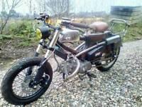 Honda C90 cub custom 160cc pit bike engine c50 c70 show bike