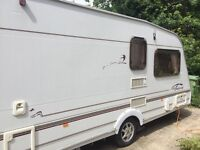 Swift fairway 2 bed caravan 2002 with motor mover