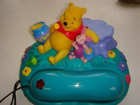 Disney Pooh Bear Telephone model 105pooh 'Winnie the Pooh and Piglet