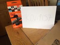 Amazon fire stick with Kodi Alexa remote