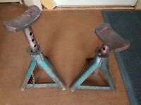 Axle stands - the pair for £15
