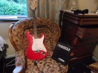 Electric Guitar, suit age 11 - 17 years