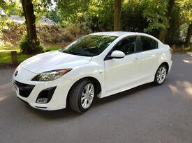 2009 Mazda 3 2.2 D Sport 4dr, FSH, 2 Keys, HPI Clear, All Paperwork Present, SatNav.