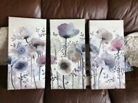 Graham & Brown floral picture