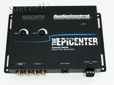 AudioControl The Epicenter Gray Car Audio Bass restoration Digital Equalizer