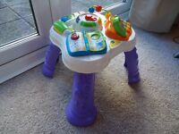 Vtech Play & Learn Activity Table. Great condition.