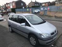 Vauxhall zafira design 16v 12month mot 7 seater