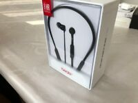 Beats X headphones Black. Still sealed in box, unwanted present.