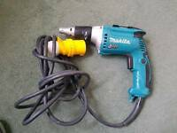 MAKITA FS4300 110V Drywall screw driver with adapter plasterboard screwgun gypsum