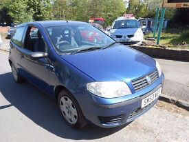 Fiat Punto Active 1.2cc ,3 door comes with 12 months m-o-t
