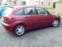 2002 FORD FOCUS 1.6 5 DOOR HATCH AUTOMATIC