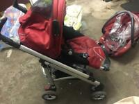 Maxi-Cosi Loola pushchair and car seat carrycot