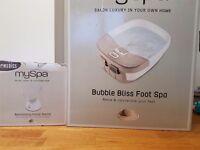 My spa footspa and facial sauna