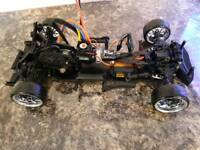 Rc drift car d4 black edition
