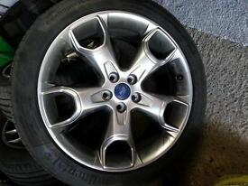 Alloy wheels 19in Ford Kuga