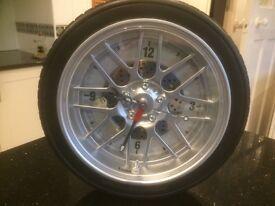 Car Wheel clock