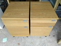Two drawer filing cabinets
