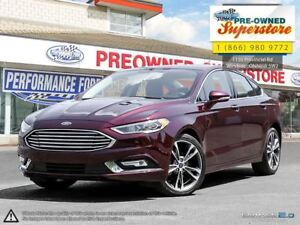 2017 Ford Fusion >>>AWD, NAV, leather<<<