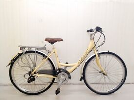 A small VISCOUNT Ladies City Bike Hybrid 3 speed Alloy Frame, Fully Serviced warranty