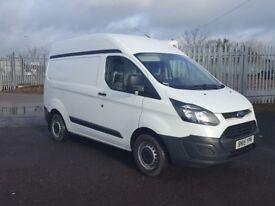 2015- 15 plate ford transit custom 2.2 290 swb high roof van one plc ow...