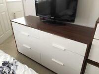 Ikea Chest of draws and matching bedside cabinets