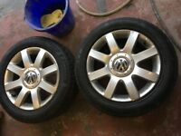 Volkswagen Golf gt alloys £125