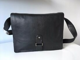 Leather Messenger Bag - Hidepark (Brand new)