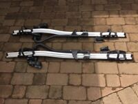Thule lockable roof bars and bike carriers