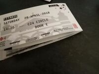 Titanic the musical tickets