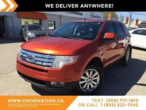 2007 Ford Edge SEL Plus LUXURIOUS RIDE! LEATHER! DVD! AWD!