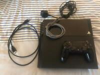 PS4 500GB W/ 1x Wireless controller