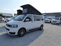 2013 62 Reg Volkswagen VW Transporter Camper Campervan Pop to Brand New Conversion