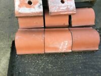 16 good Quality reclaimed terracotta coping stones