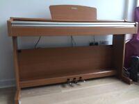 Yamaha YDP-143 Arius Digital Piano. Brown