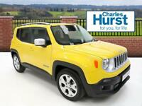 Jeep Renegade LIMITED (yellow) 2017-07-31